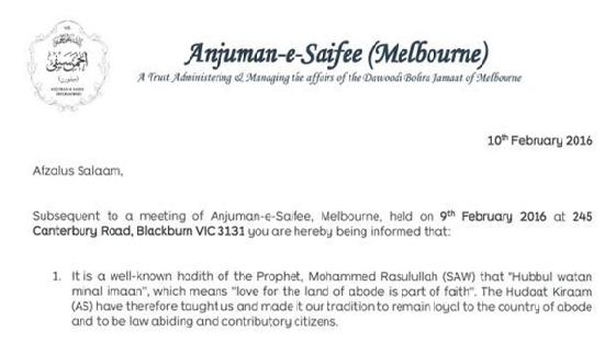 Melbourne Resolution pic