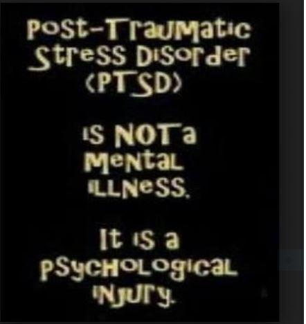 PTSD not a mental illness